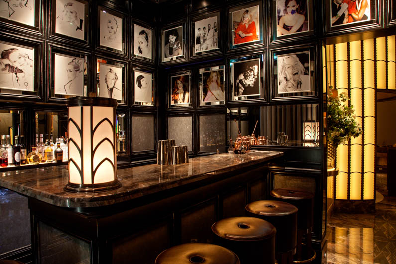 Best Art Deco Hotels Claridge's bar