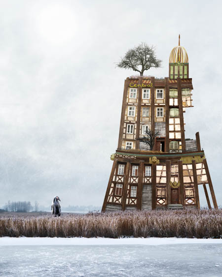 Collages of Matthias Jung Zonenrandgebiet