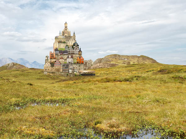 Collages of Matthias Jung An Sgurr