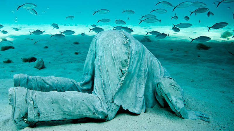Underwater Sculpture anthropocene