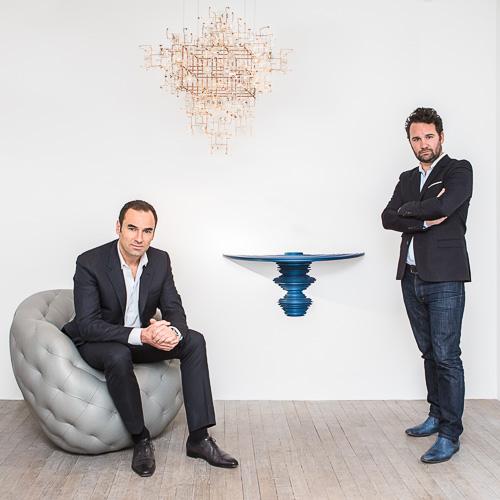 Loic Le Gaillard and Julien Lombrail masterpiece london 2015 CARPENTERS WORKSHOP
