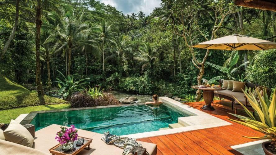 Villa private pool Four Seasons Bali Sayan