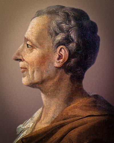 The European Crisis of Confidence Portrait of Montesquieu (1689-1755)