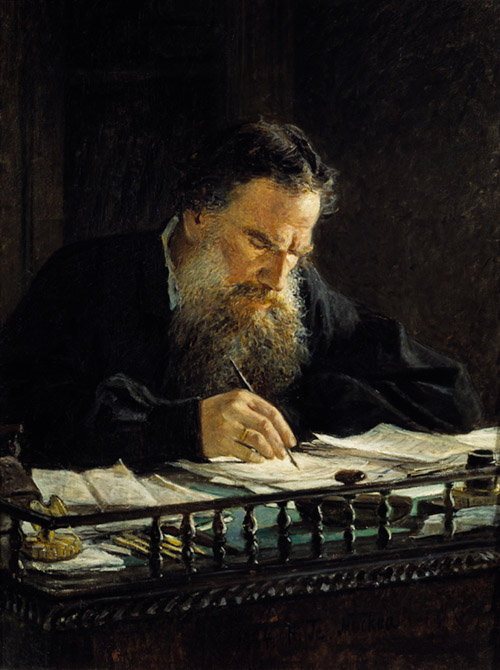 Leo Tolstoy by Nikolai Ge Russia and the Arts - The Age of Tolstoy and Tchaikovsky