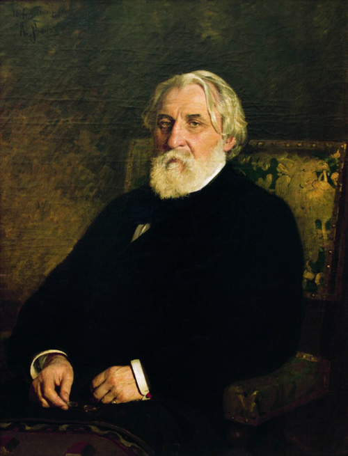 Turgenev by Repin Russia and the Arts - The Age of Tolstoy and Tchaikovsky