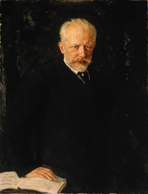 Pyotr Tchaikovsky by Nikolai Kuznetsov Russia and the Arts - The Age of Tolstoy and Tchaikovsky