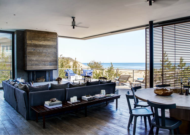 Amagansett House, Long Island, New York, USA Waterside Modern