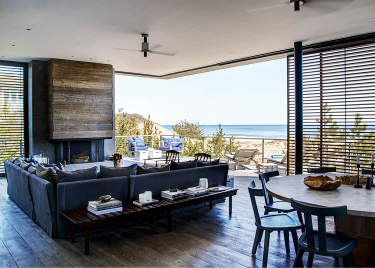 Amagansett House, Long Island, New York, USA Waterside Modern