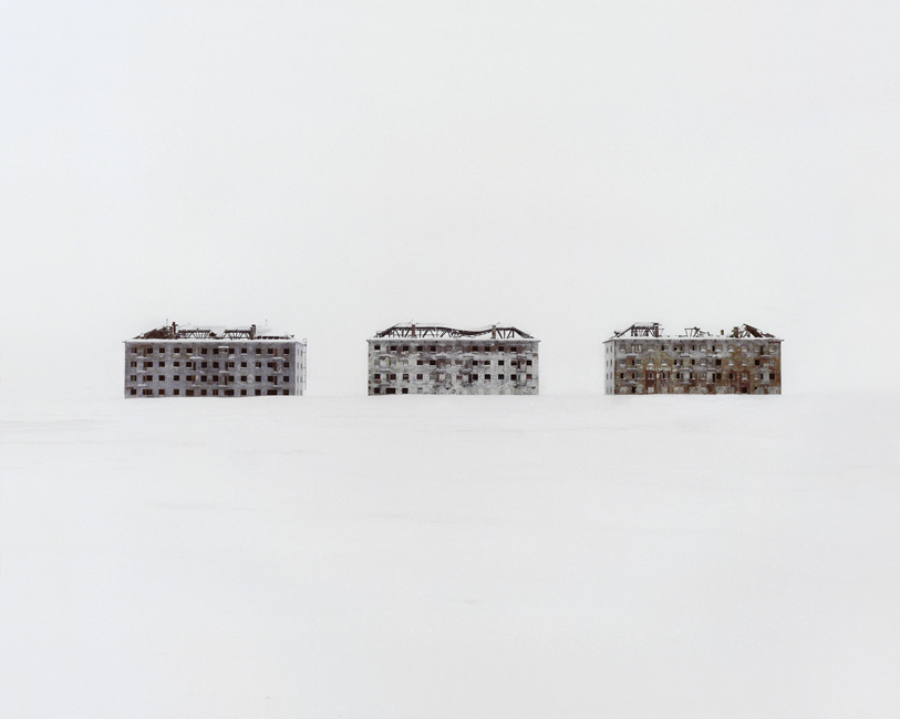 Danila Takatchenko, 2. Former residential buildings in a deserted polar scientific town specialised on biological research. Russia, Komi Republic, 2014 Dead space and ruins