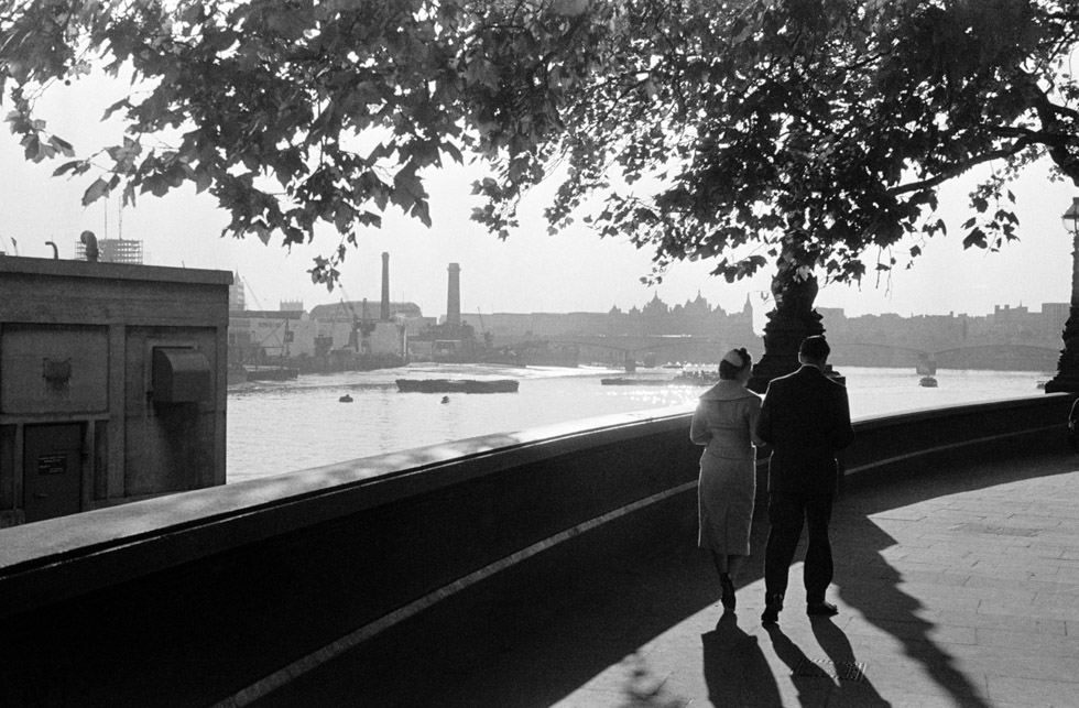 Thames Embankment, 1950 Photograph by Colin O'Brien How London Has Changed