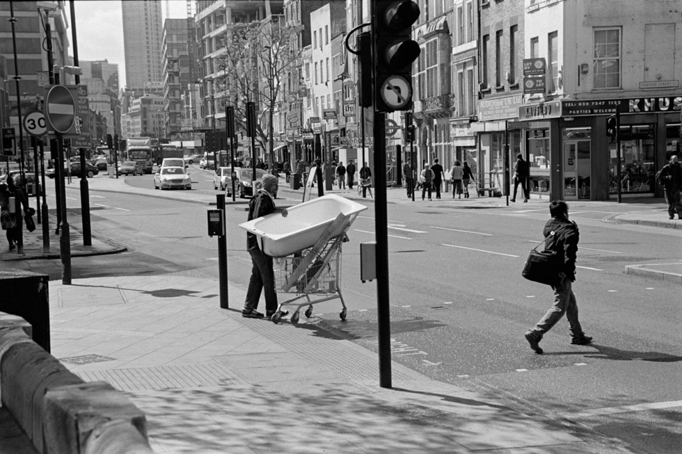 Whitechapel High Street, 2012 Photograph by Colin O'Brien How London Has Changed