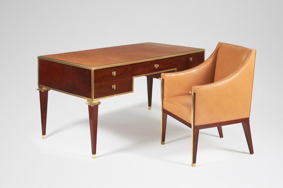 MARC DU PLANTIER Desk and Armchair, masterpiece london 2016