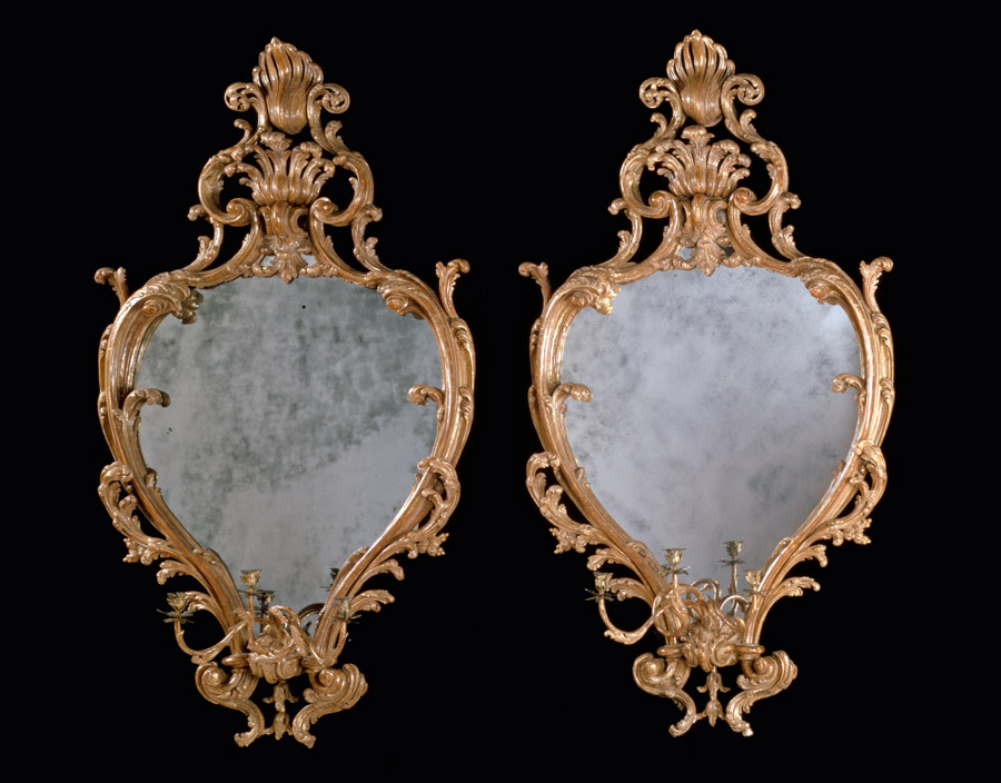 Composition by Grigory Gluckmann masterpiece london 2016George III giltwood mirrors by John Bradburn and William France masterpiece london 2016 Mallett antiques