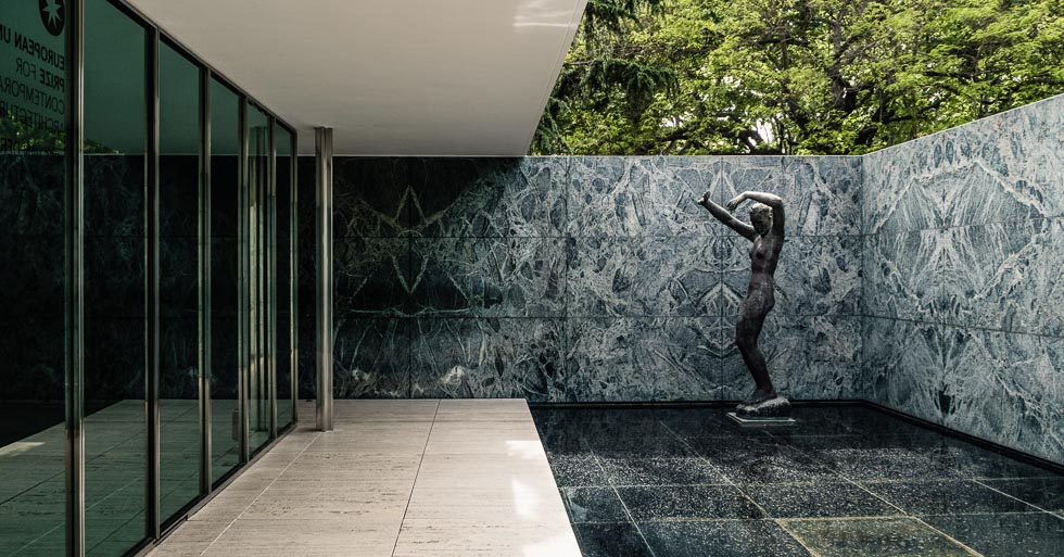 100 Most Important Buildings Barcelona Pavilion