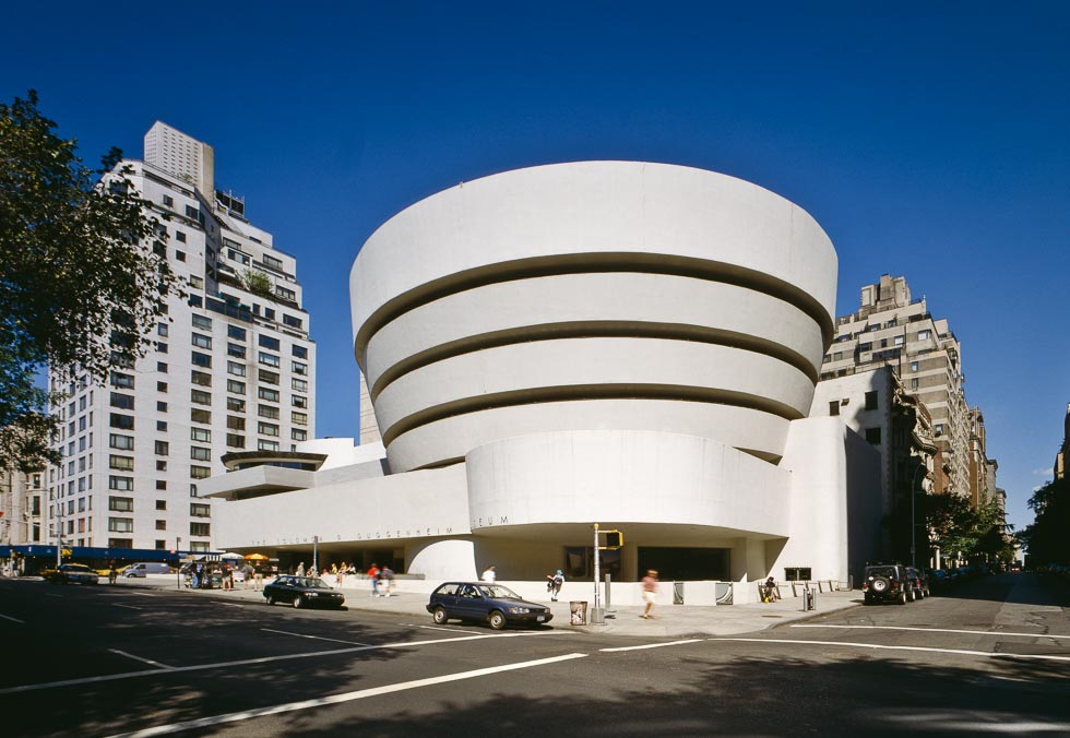 100 Most Important Buildings Solomon R Guggenheim Museum