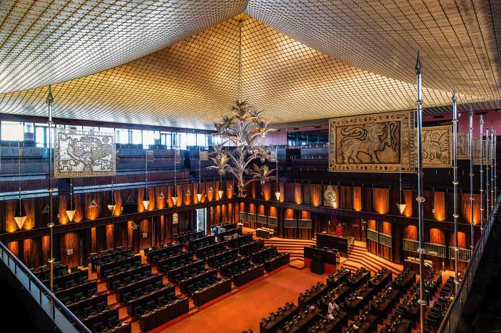 The New Sri Lanka Parliament by Geoffrey Bawa - the Best of Sri Lankan Architecture