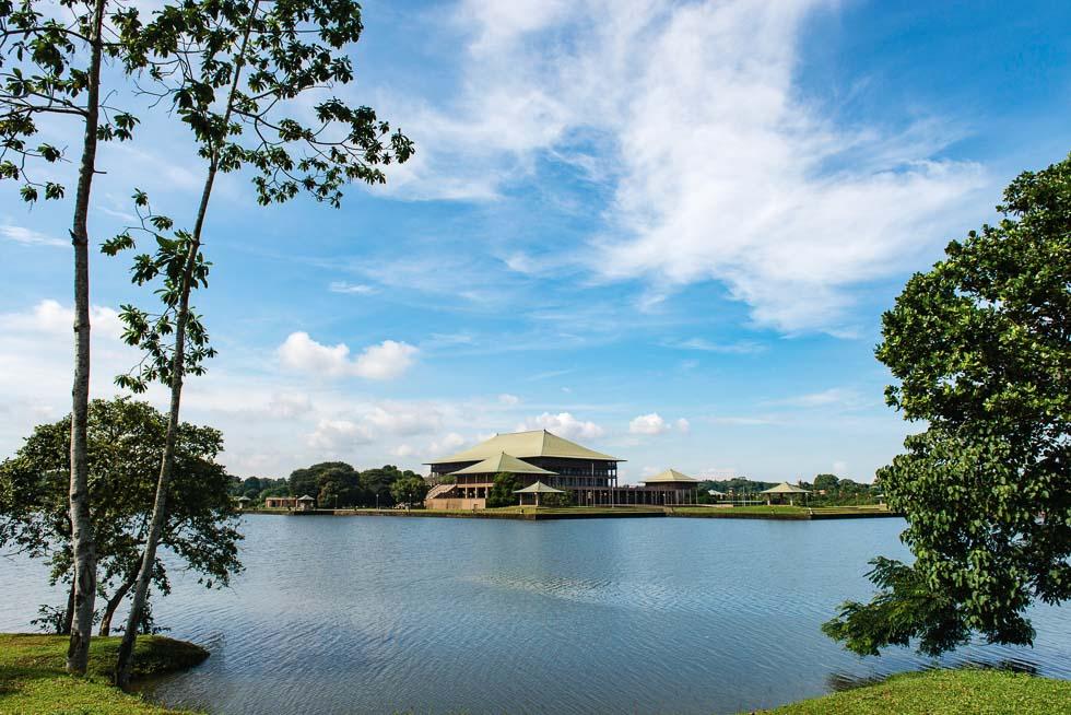 Geoffrey Bawa's The New Sri Lanka Parliament the Best of Sri Lankan Architecture