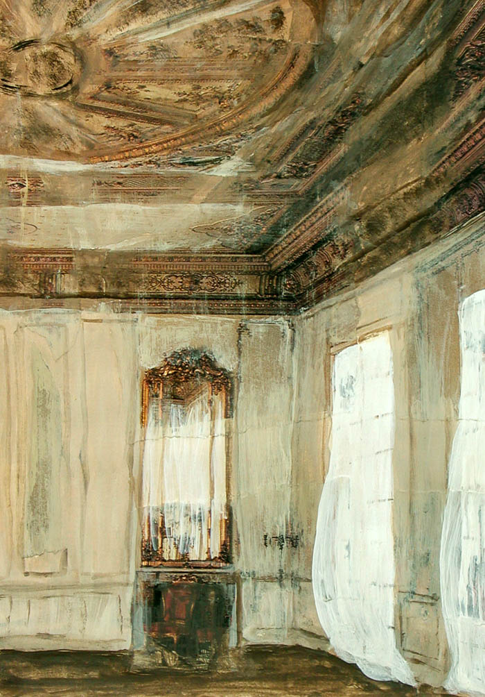 A state of Interiors, mixed media by Rupert Dixon
