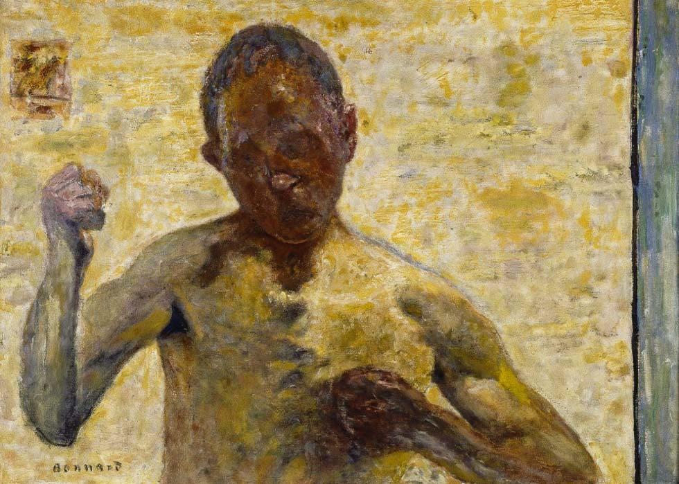 The Boxer by Pierre Bonnard figurative painting in the twentieth century