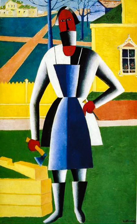 Kazimir Malevich Carpenter Michael Glover's Encounter with Great Works of Art