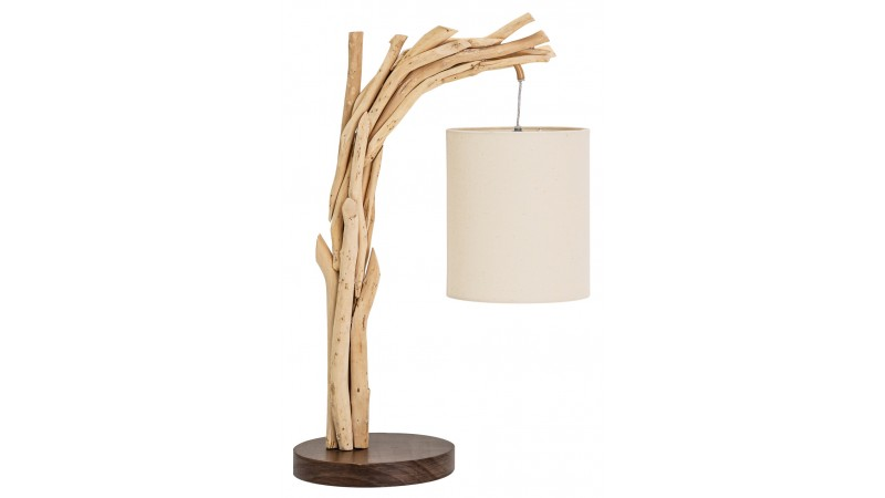 lampe de bureau design scandinave bois