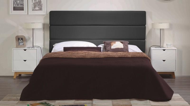 tete de lit design simili cuir 160 cm