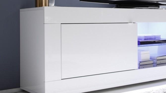 meuble tv design a led lumineux lernig