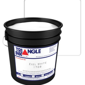 Triangle Ink Excel White from GDM Graphics