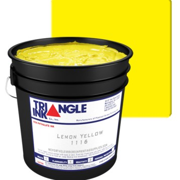 Triangle Ink Lemon Yellow from GDM Graphics
