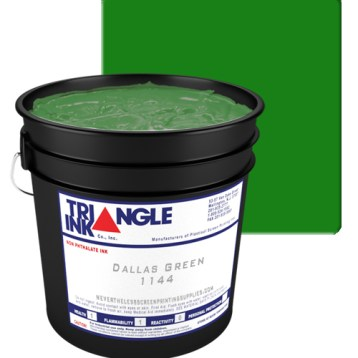 L.B. Dallas Green Triangle Ink by GDM Graphics