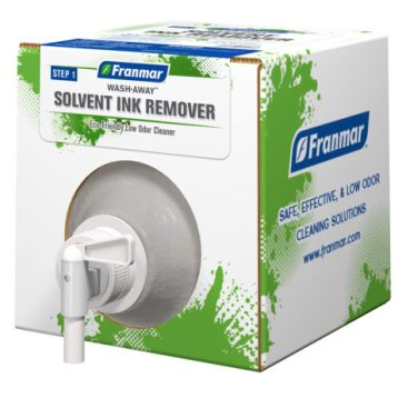 Wash-Away Solvent Ink Remover available at GDM Graphics