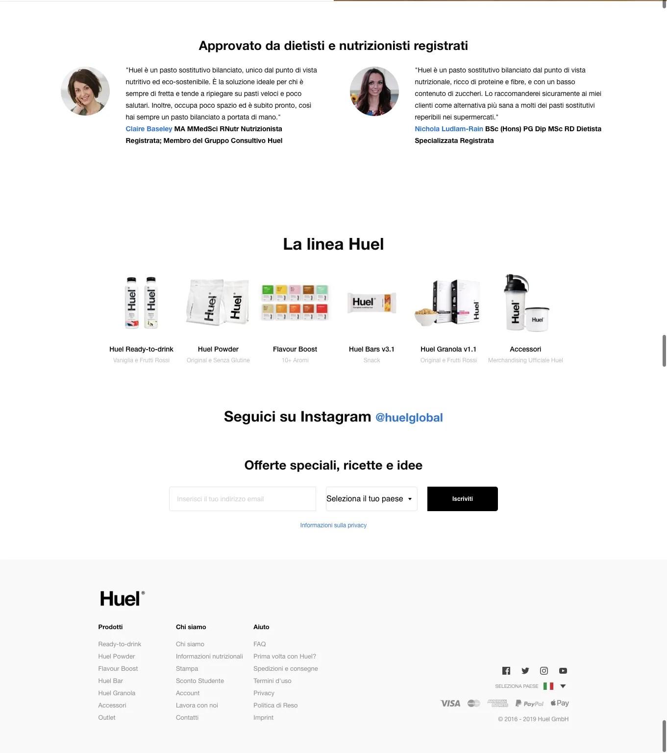 2020 sito web ben fatto miglior design