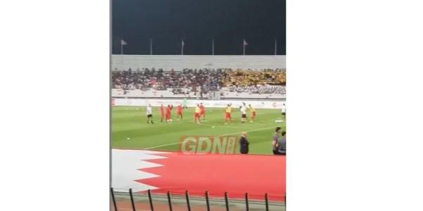 VIDEO: Bahrain and Iran match kicks off