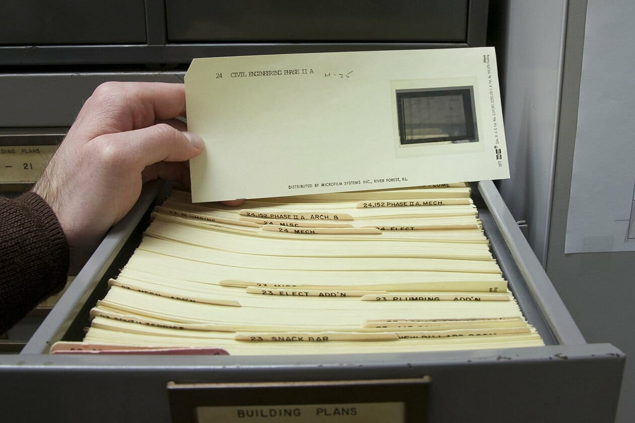 Aperture Cards Scanning Global Document Services