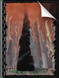 Torre Nera Cielo Cremisi