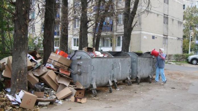 Platformă de gunoi