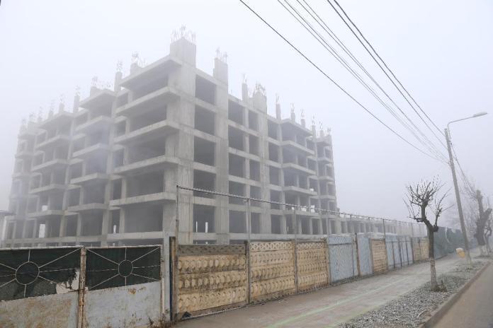 Cartierul chinezesc, în ceață