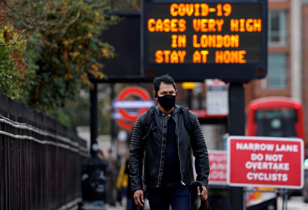 Marea Britanie a înregistrat peste 57.000 de noi cazuri de Covid-19