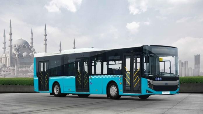 Așa arată un autobuz electric produs de BMC Truck & Bus