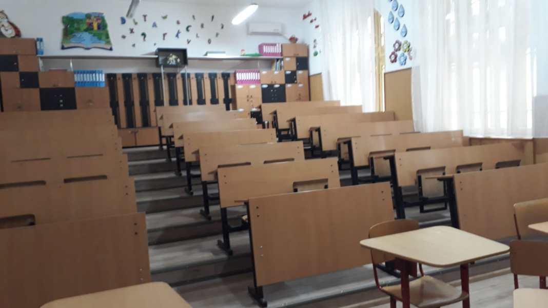 În Olt, 50 de școli care au cerut suspendarea activității