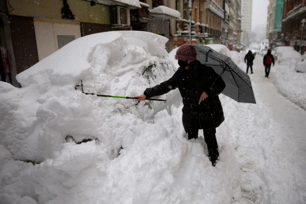Ministerul Afacerilor Externe a anunțat că autoritățile din Spania au emis coduri roșu, portocaliu și galben de frig polar