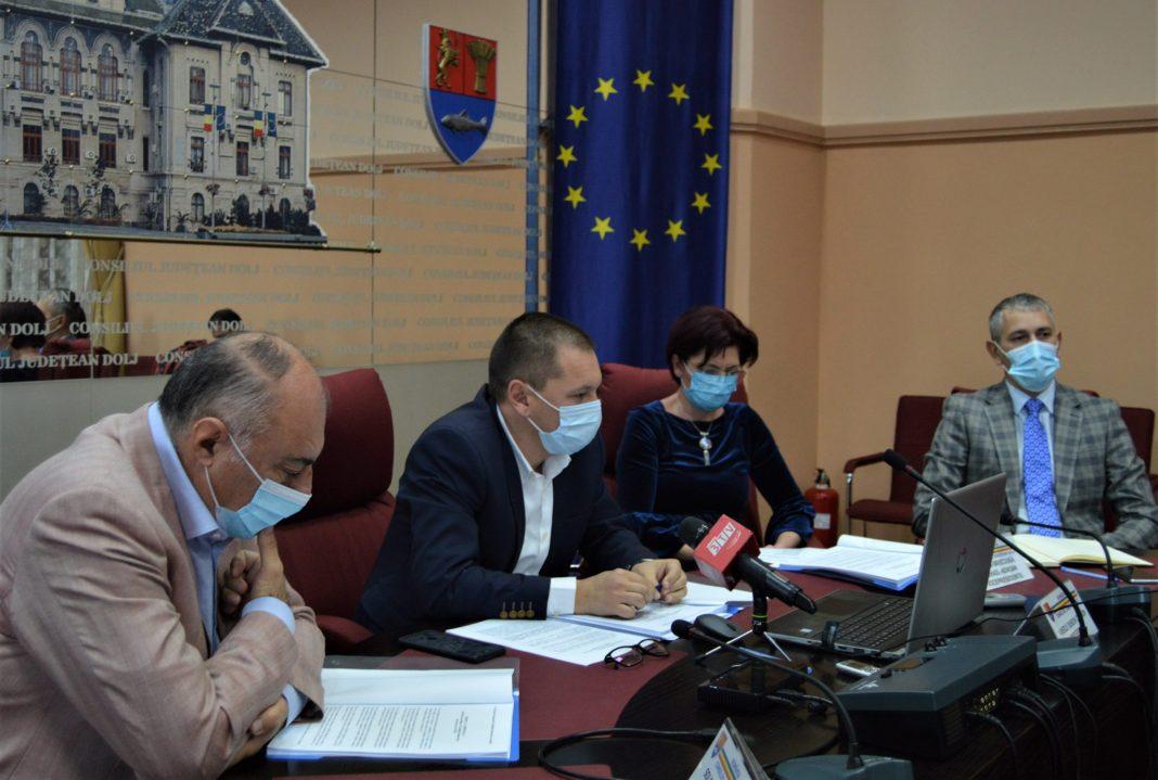 Consiliul Judeţean Dolj are la dispoziţie în 2021 peste 110 milioane de lei, bani care vor merge strict către proiectele cu fonduri europene demarate în anii anteriori