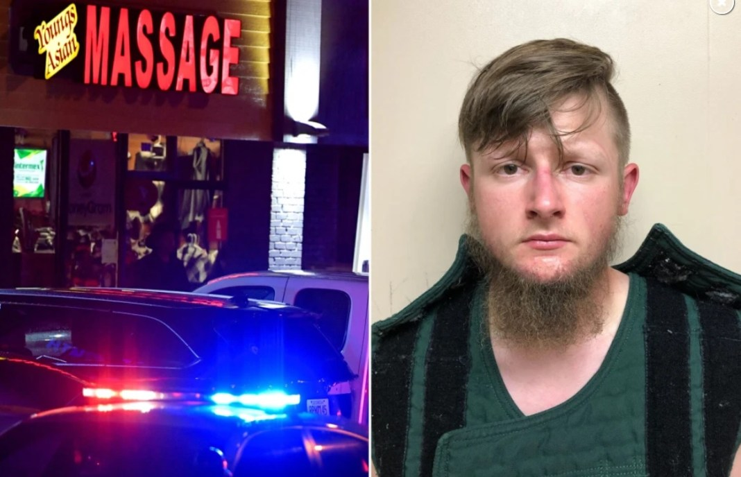 Robert Aaron Long, de 21 de ani, a fost arestat în jurul orei 20.30 ora locală