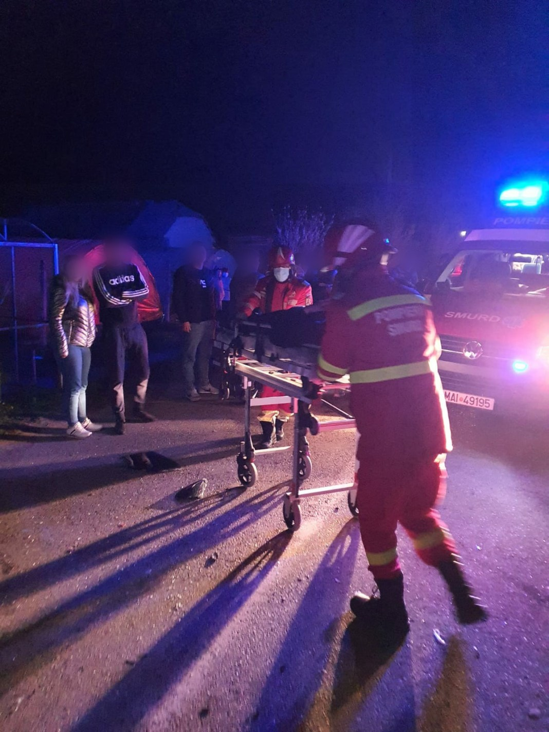 Accident grav într-o comună din Vâlcea