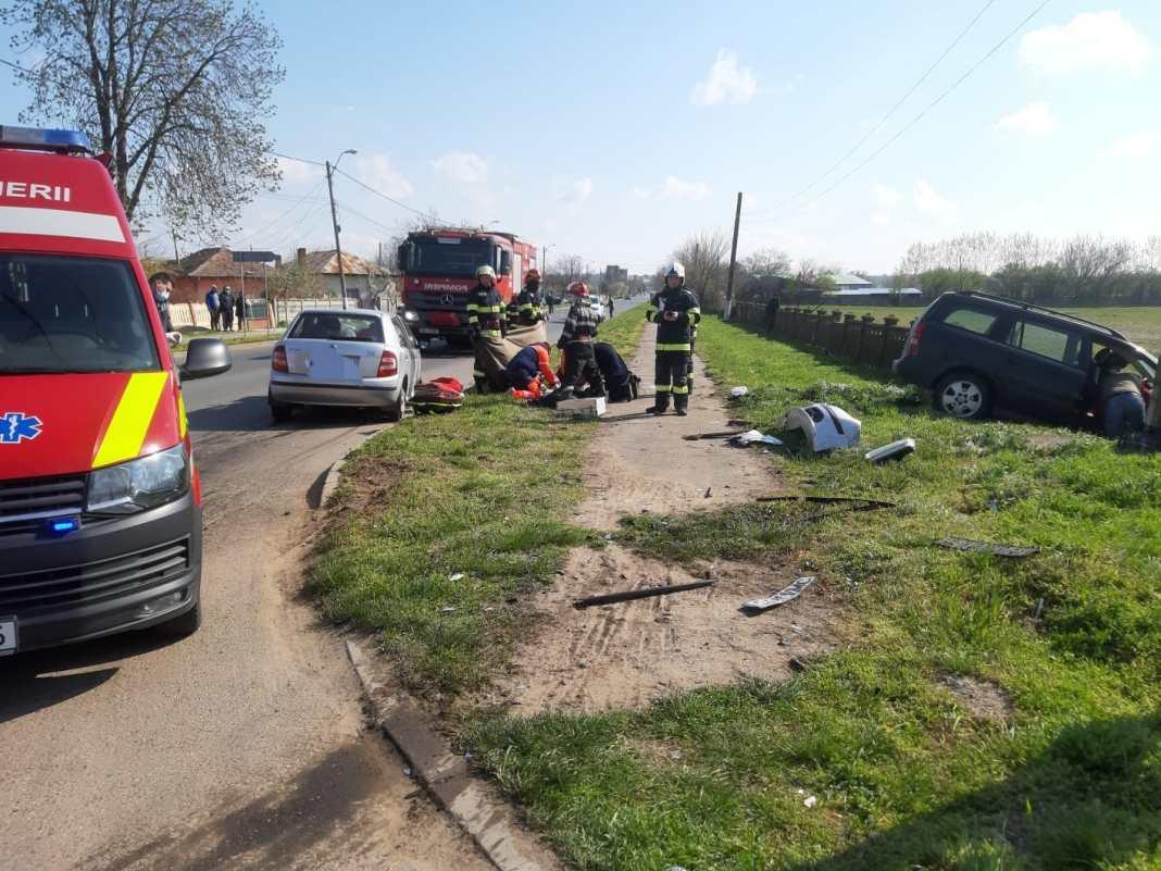 Bărbat mort într-un accident la Segarcea