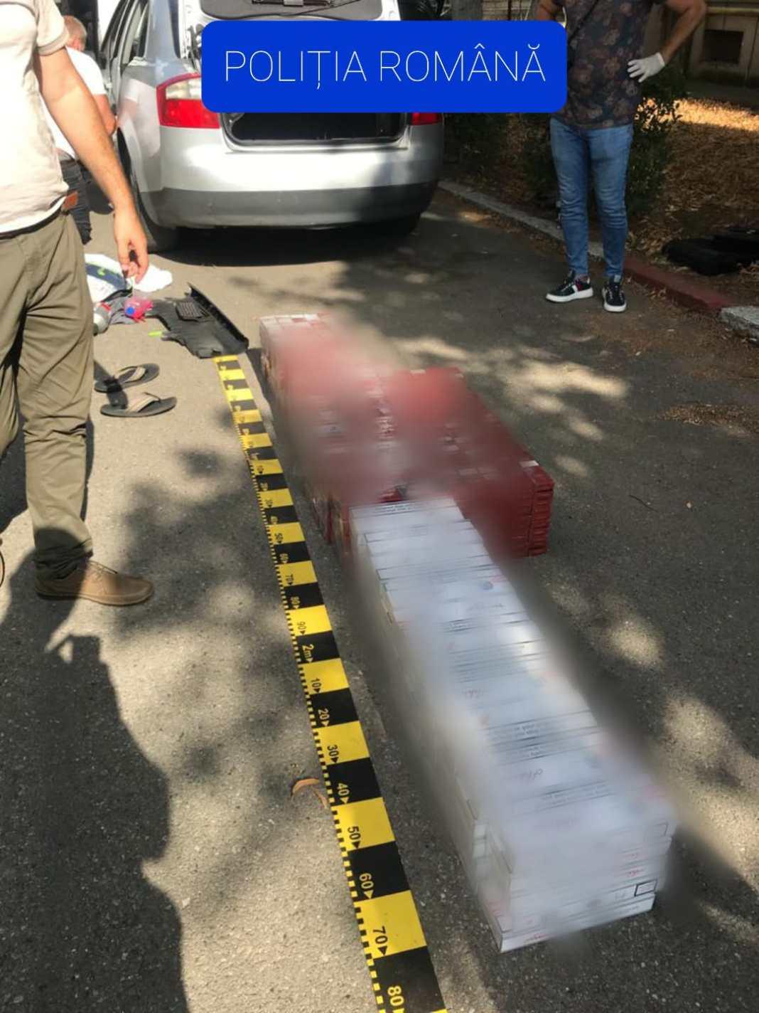 Percheziții de amploare în Dolj, Vâlcea și Suceava: 11 persoane, reținute pentru contrabandă cu țigări