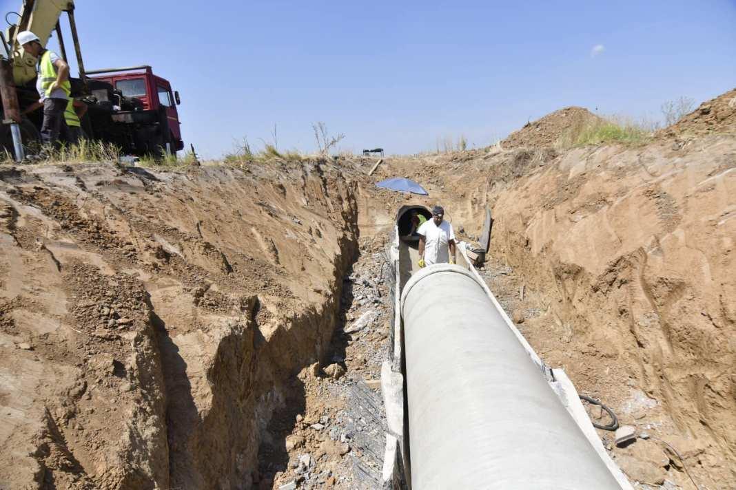 Aducțiunea de apă Isvarna II se apropie de Craiova. Lucrările avansează în ritm alert, potrivit primarului Craiovei, Lia Olguţa Vasilescu