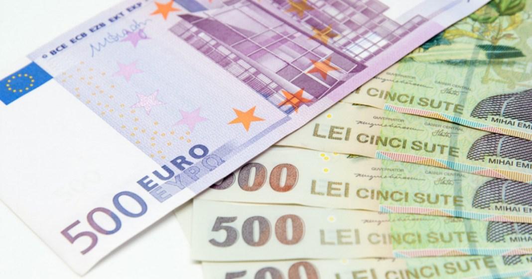 Euro, un nou maxim istoric în raport cu leul
