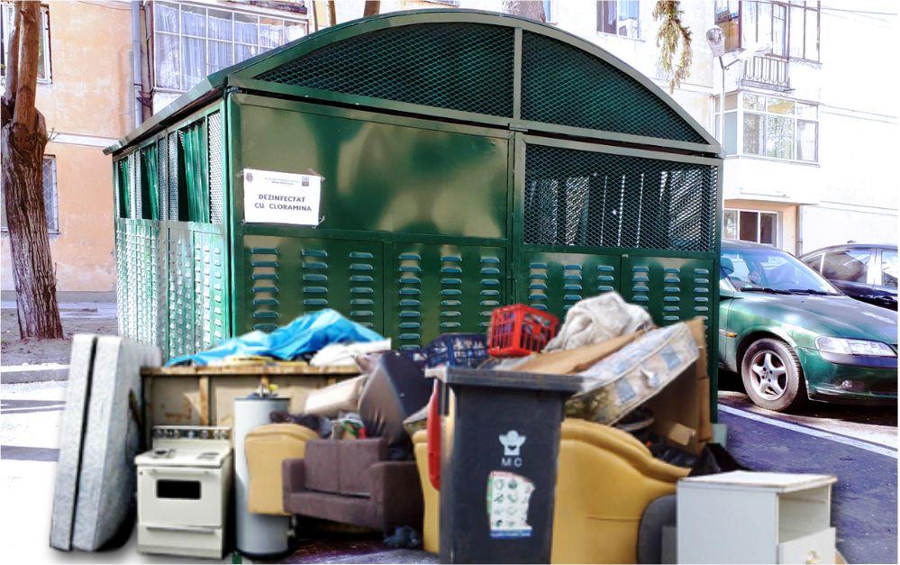 În Râmnicu Vâlcea se colectează gratuit deşeurile voluminoase şi deşeurile de echipamente electrice şi electronice