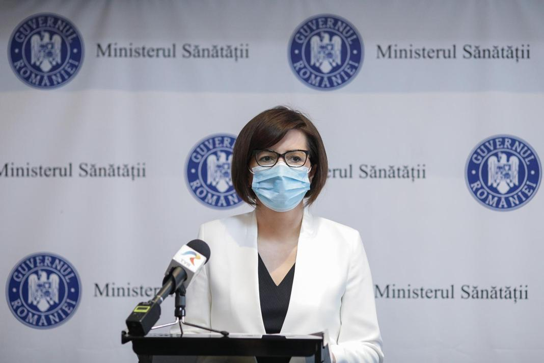 Ioana Mihăilă: Am putea ajunge la 4.000 de pacienţi spitalizaţi cu COVID-19, după ultima estimare